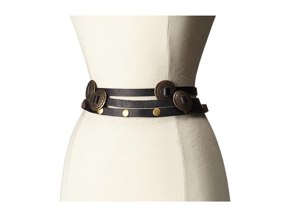 ADA Collection - Sasha Belt (Black) Women's Belts