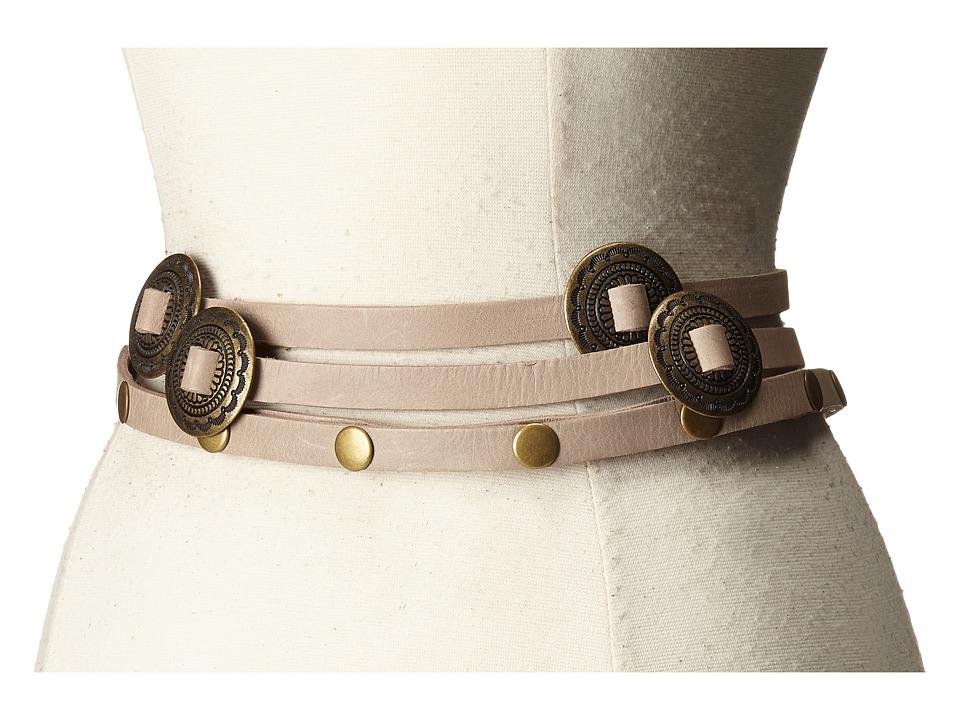 ADA Collection - Sasha Belt (Taupe) Women's Belts
