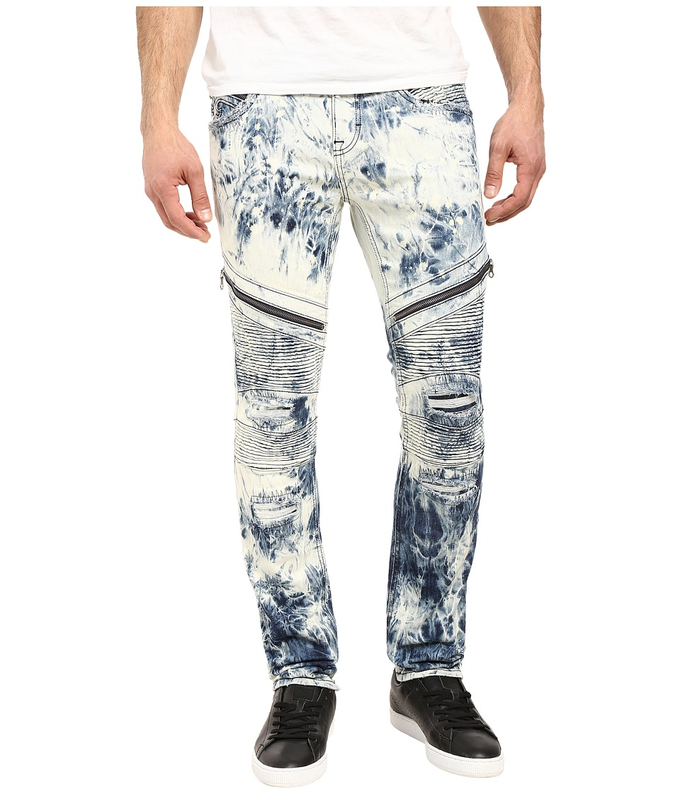 Rock Revival - Daviday S208 (Tie-Dye Light Blue) Men's Jeans