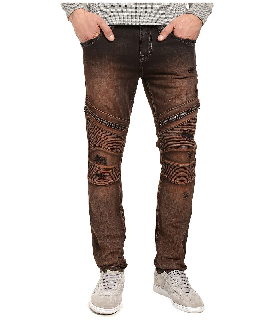 Rock Revival - Daviday S203 (Dark Browm) Men's Jeans
