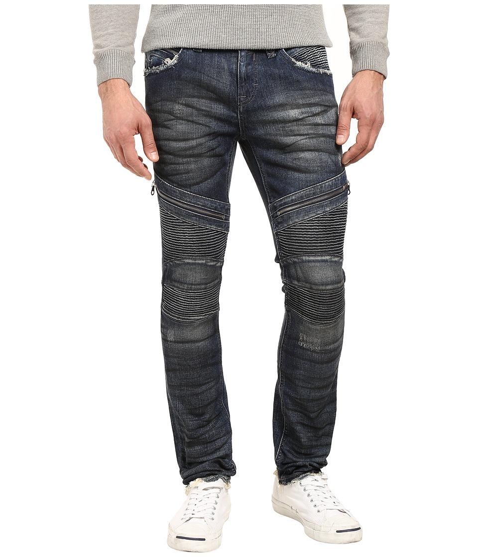 Rock Revival - Daviday S207 (Medium Blue) Men's Jeans