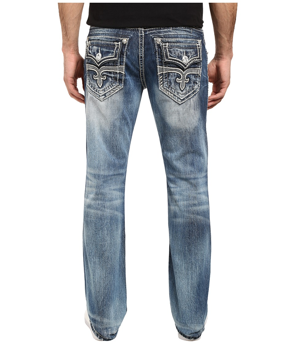 Rock Revival - Alfred J2 (Medium Blue) Men's Jeans