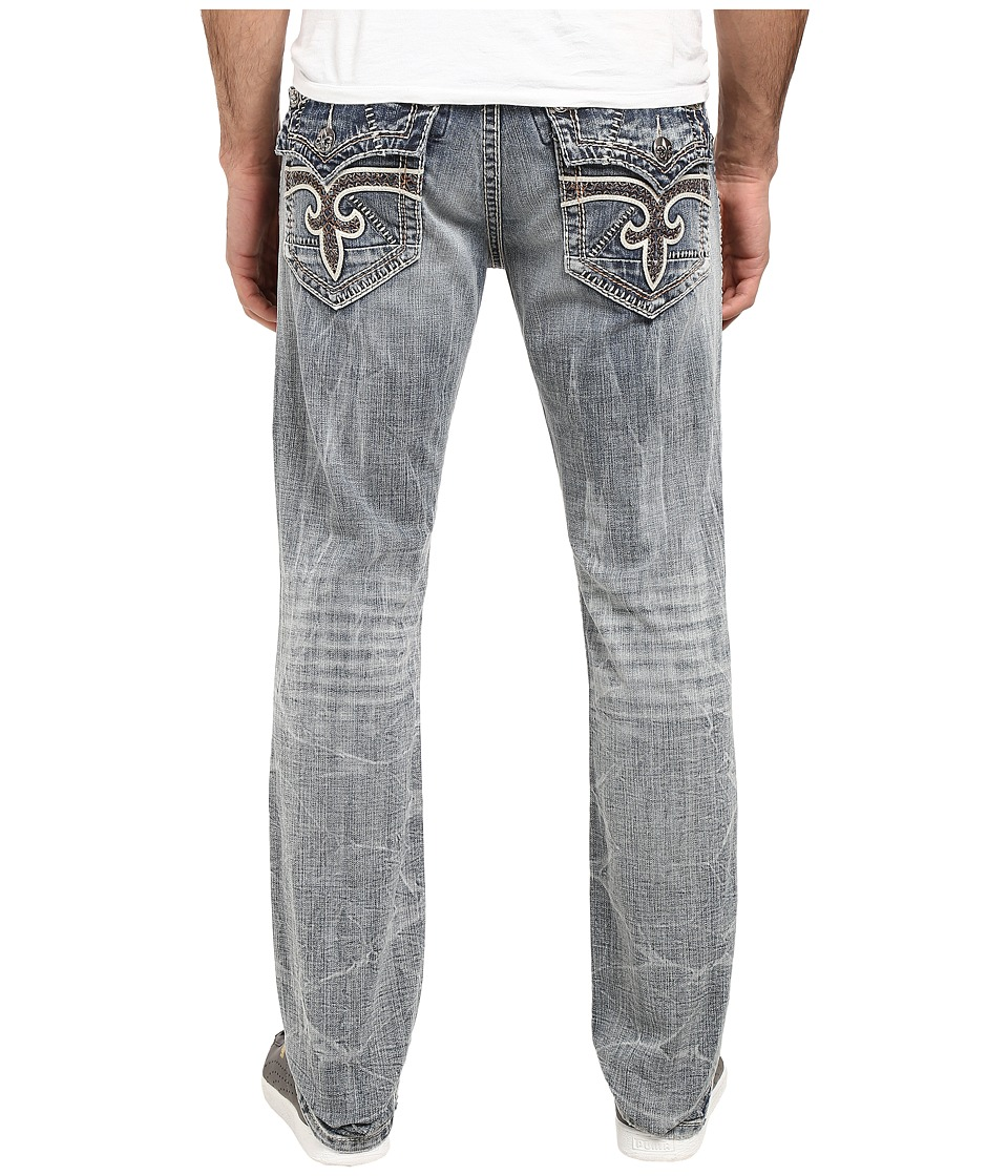 Rock Revival - Steven J79 (Blue) Men's Jeans