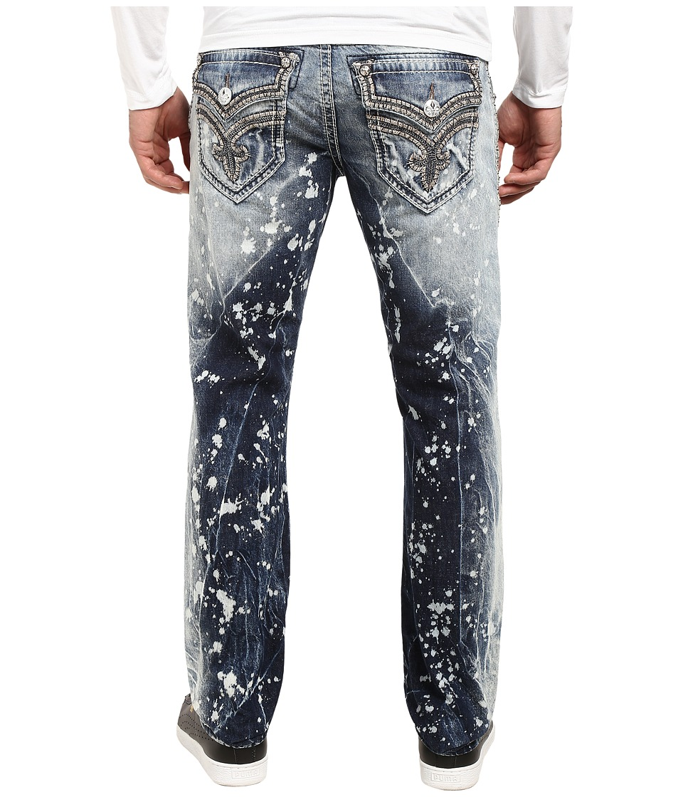 Rock Revival - Ben A203 (Acid Blue) Men's Jeans