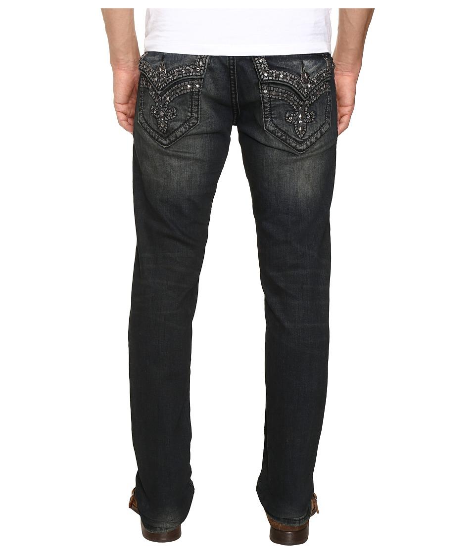 Rock Revival - Ben A39 (Dark Blue) Men's Jeans