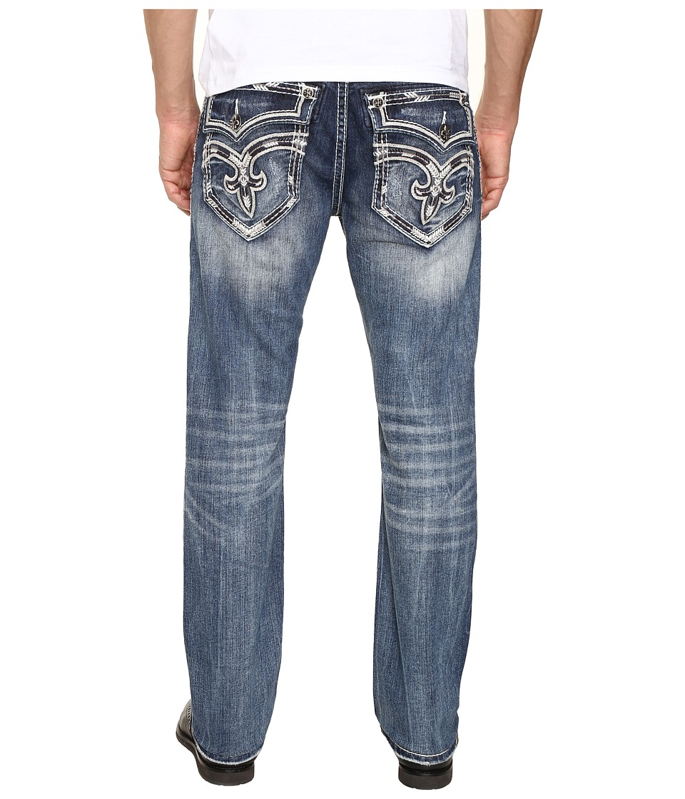 Rock Revival - Ayaan J200 (Medium Blue) Men's Jeans