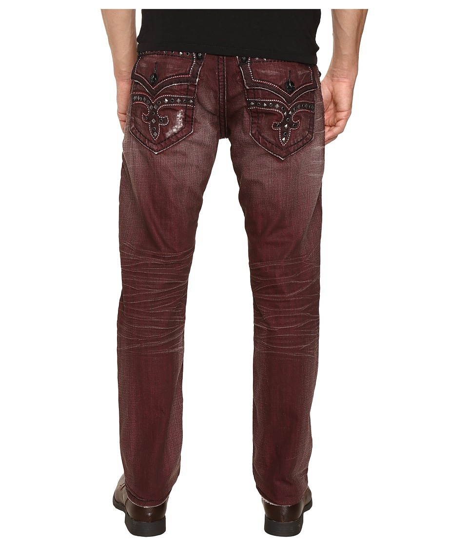 Rock Revival - Marlin A20 (Dark Red) Men's Jeans