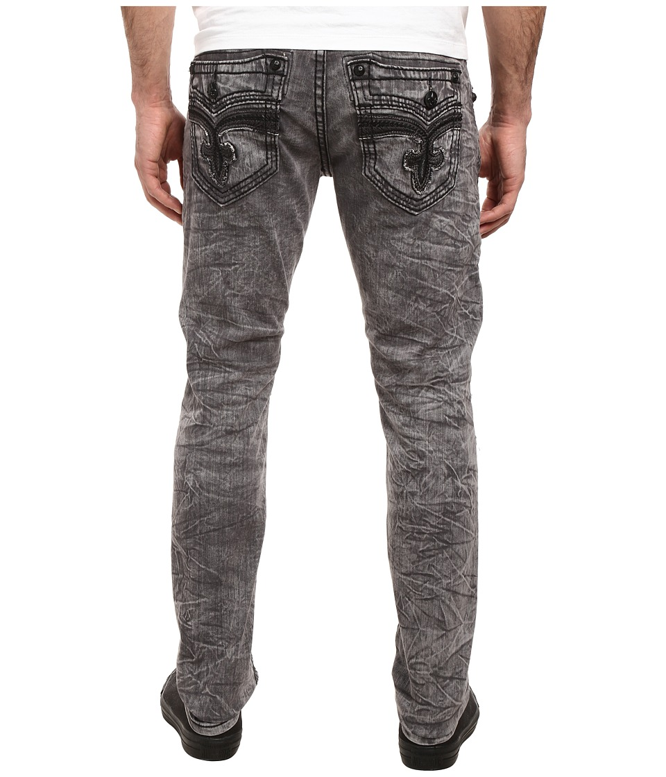 Rock Revival - Mike K16 (Acid Grey) Men's Jeans