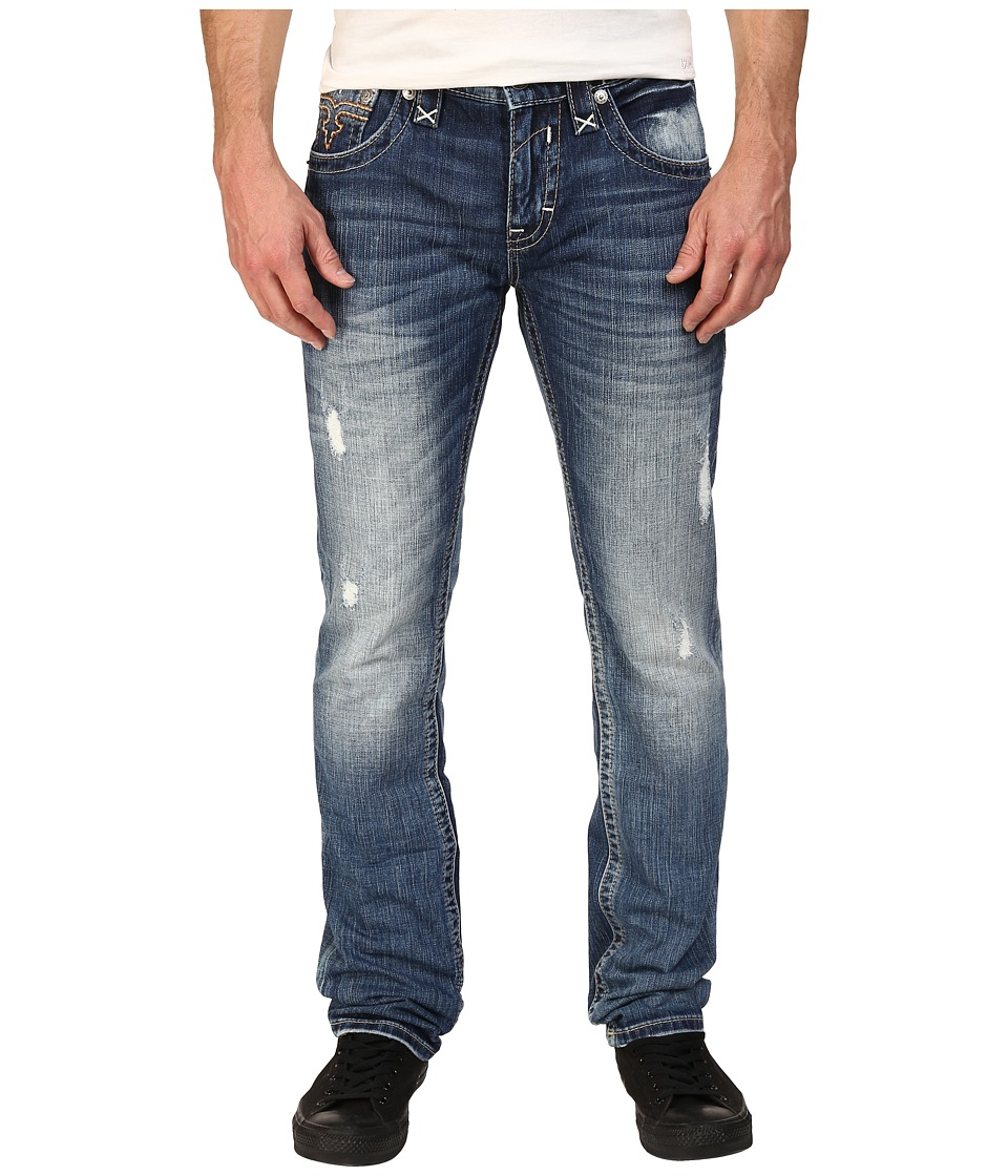Rock Revival - Kyson A203 (Medium Blue) Men's Jeans