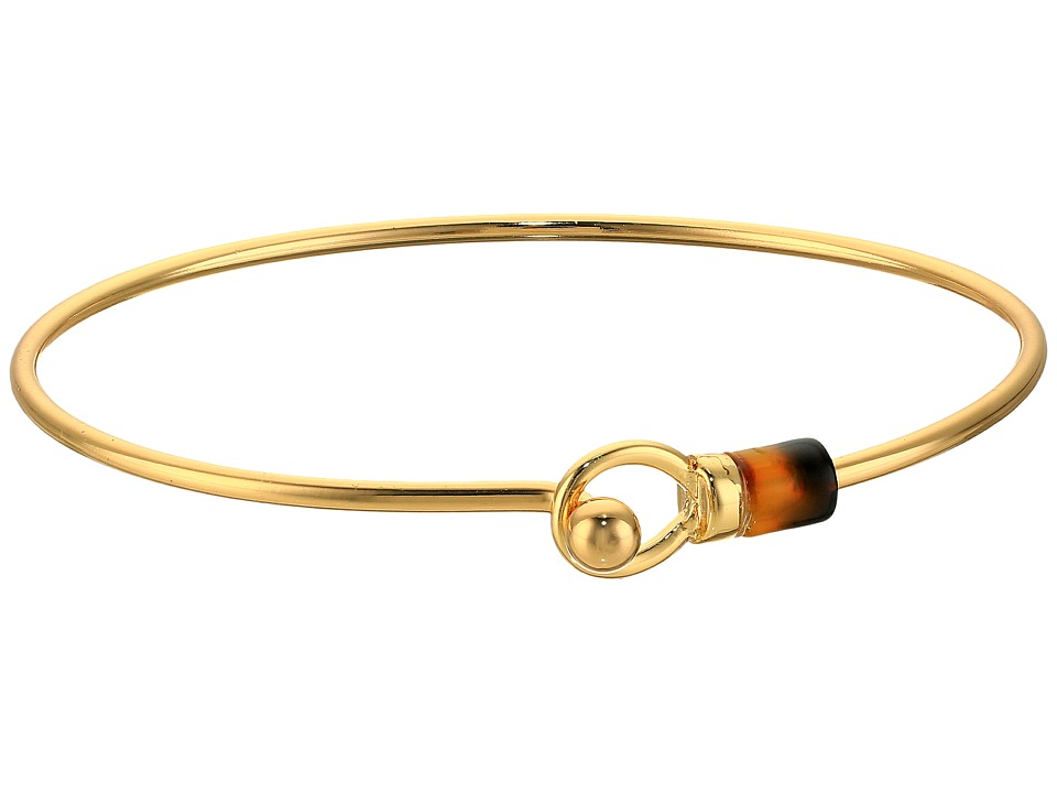 LAUREN Ralph Lauren - Riding High Metal Wire Bangle Bracelet (Gold) Bracelet