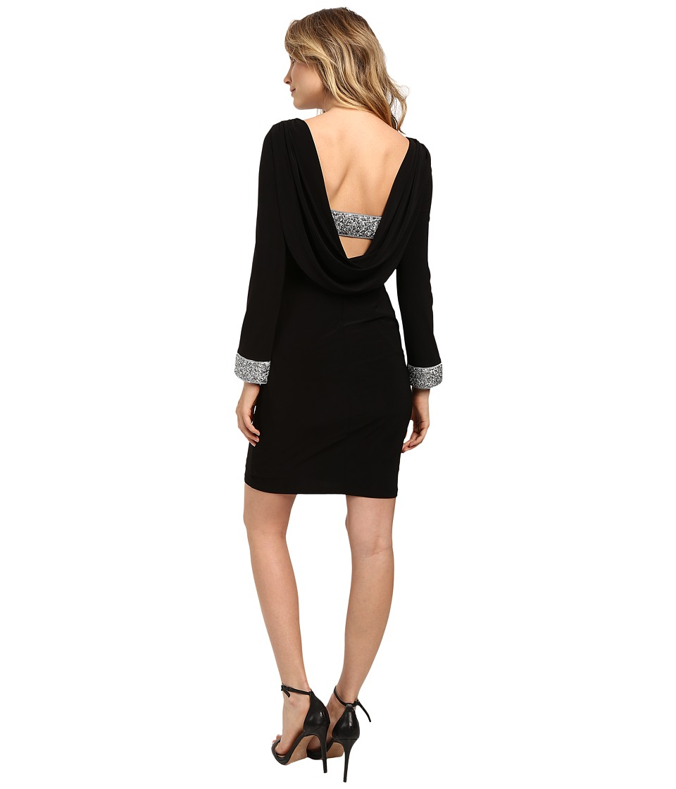 rsvp - Mina Short Dress (Black) Women's Dress