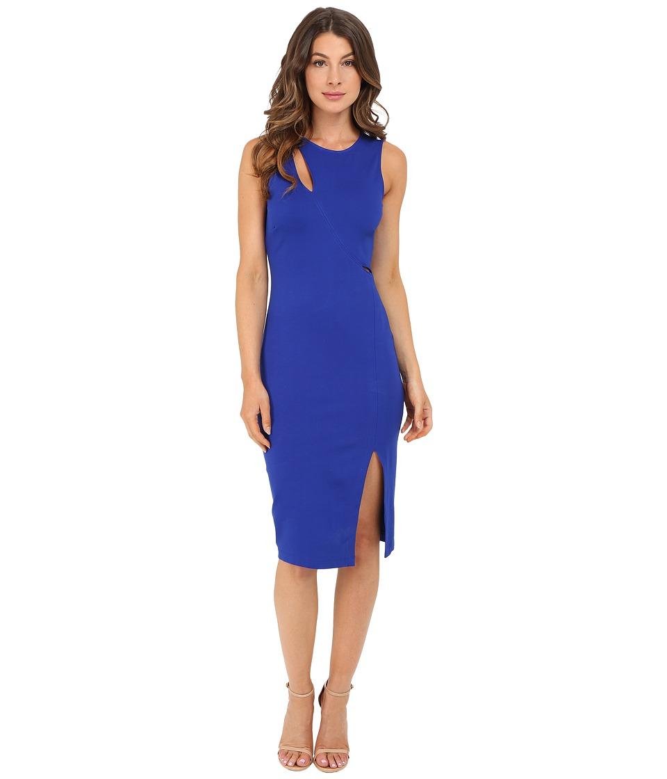 rsvp - Delma Cut Out Dress (Royal) Women's Dress