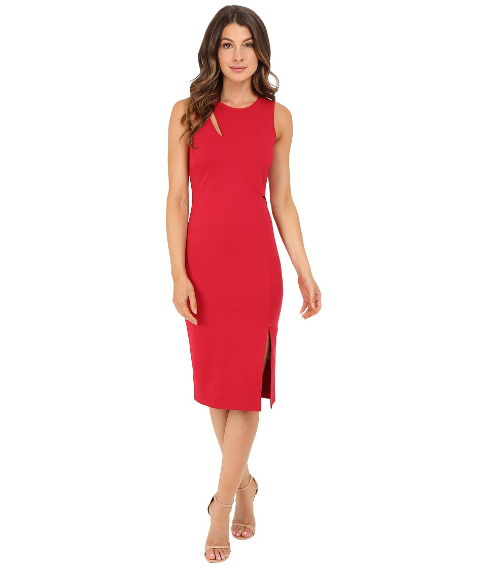 rsvp - Delma Cut Out Dress (Red) Women's Dress