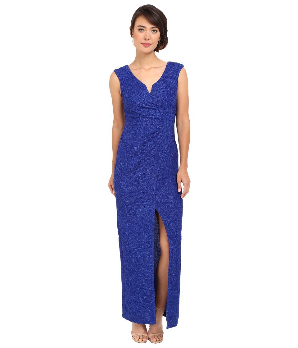 rsvp - Giselle Long Dress (Cobalt) Women's Dress