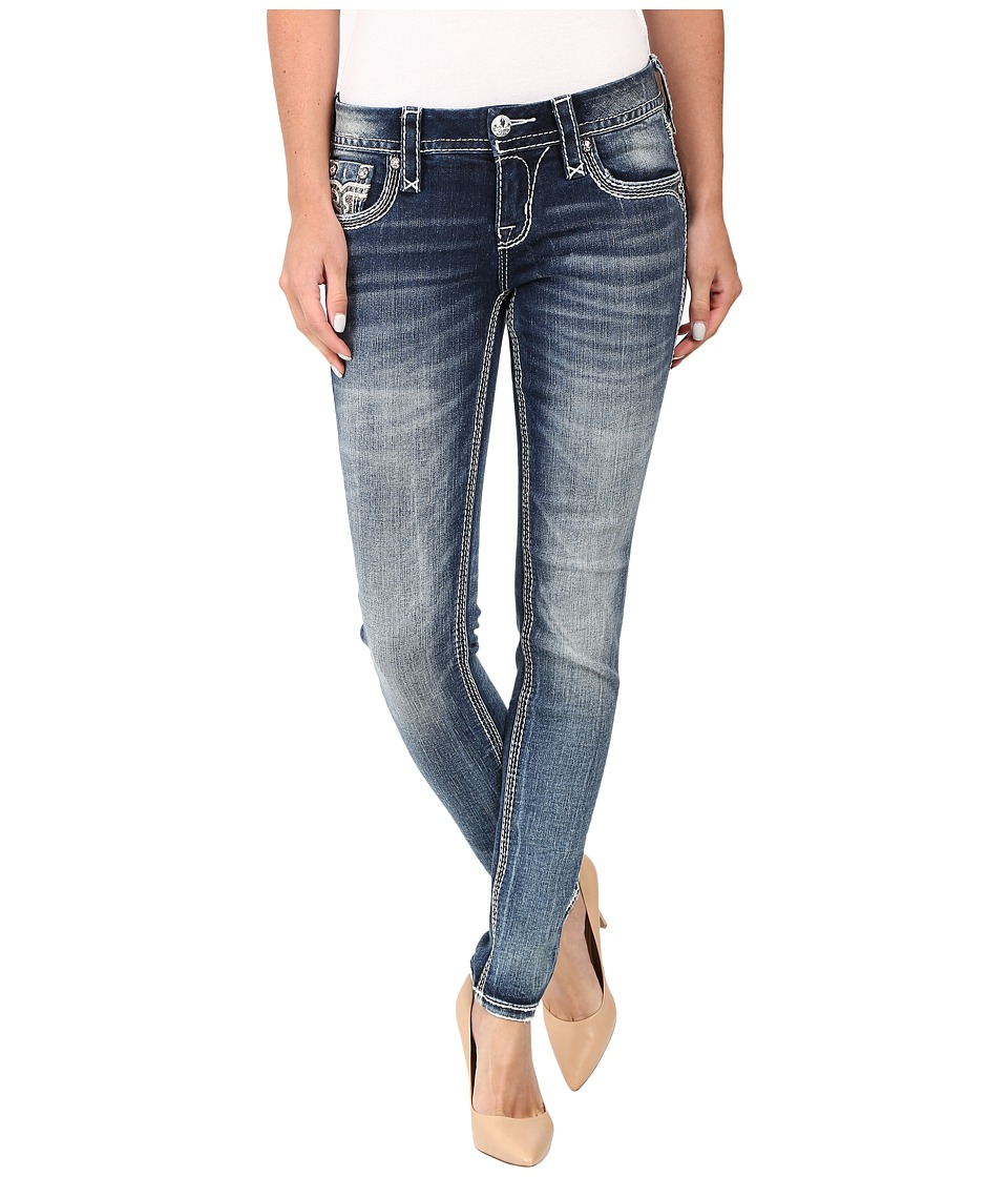 Rock Revival - Ena S203 (Medium Blue) Women's Jeans