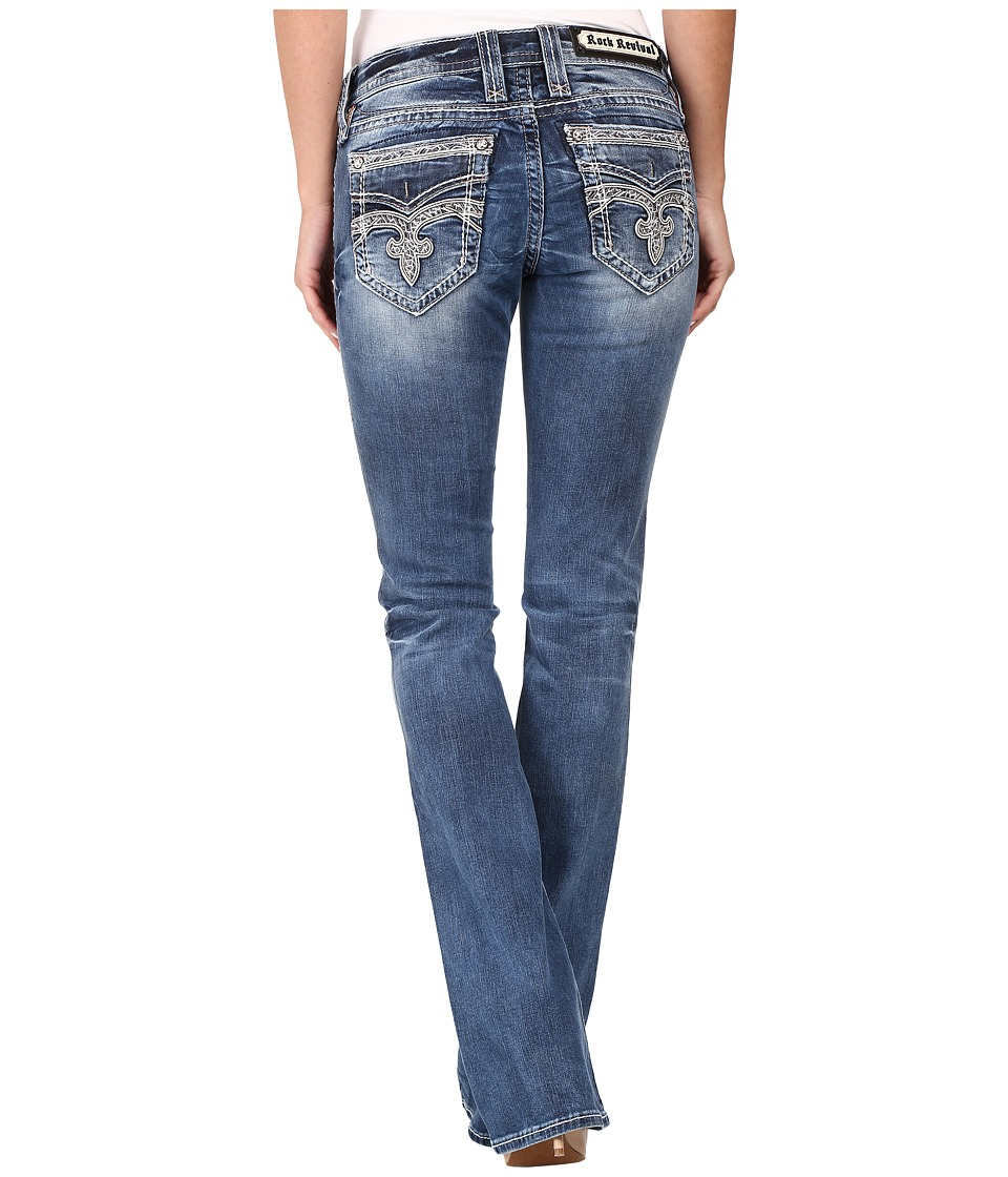 Rock Revival - Pilkin B18 (Blue) Women's Jeans