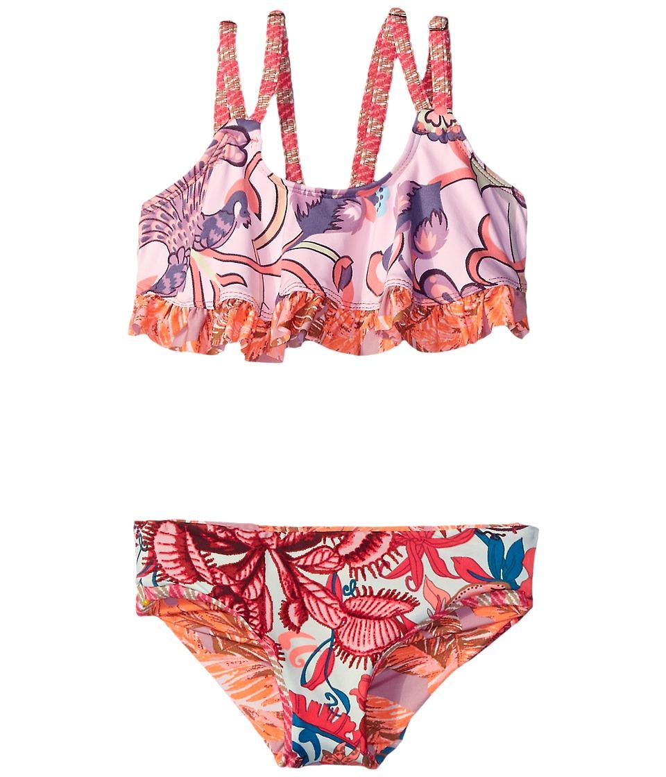 Maaji Kids - City of Art Ruffle Trim Bikini Set (Toddler/Little Kids/Big Kids) (Multicolor) Girl's Swimwear Sets
