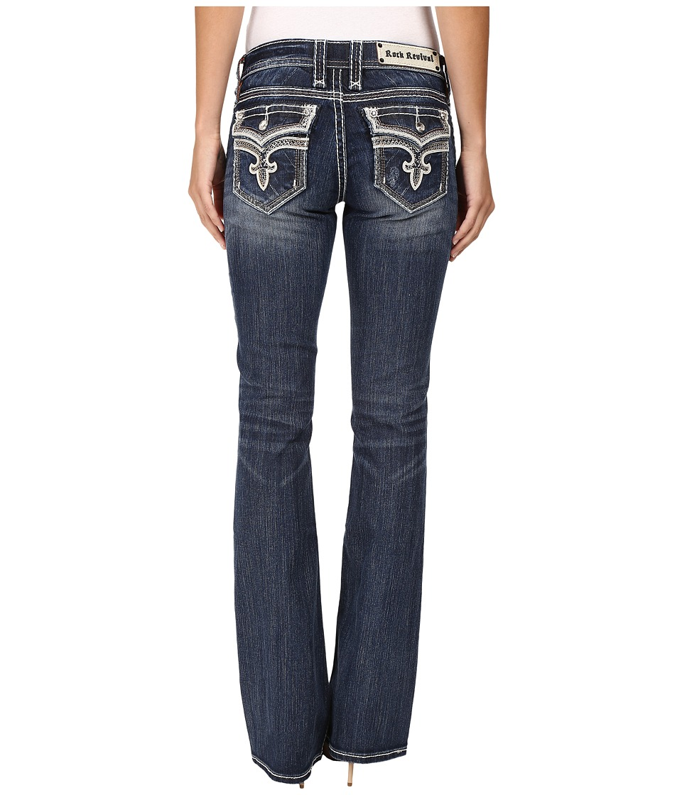 Rock Revival - Ena B24 (Medium Blue) Women's Jeans