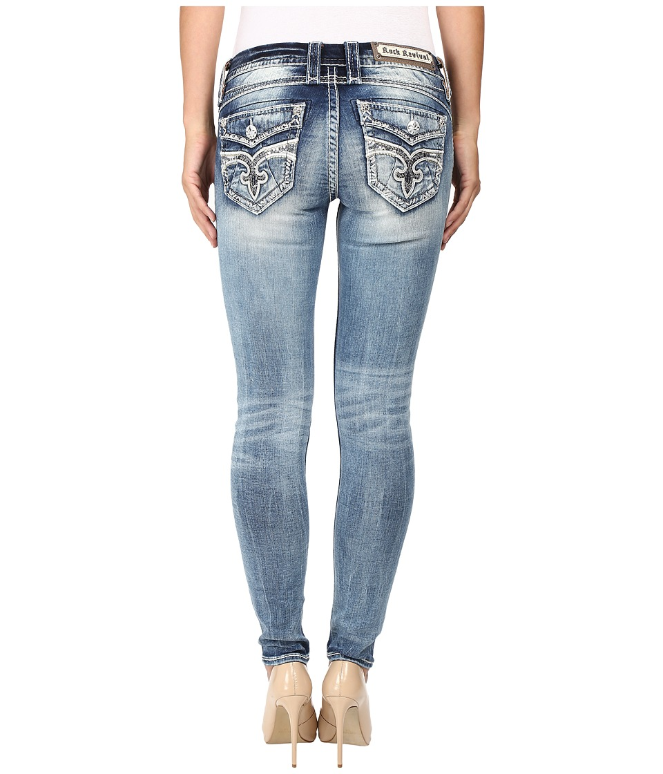 Rock Revival - Staceya S200 (Medium Blue) Women's Jeans