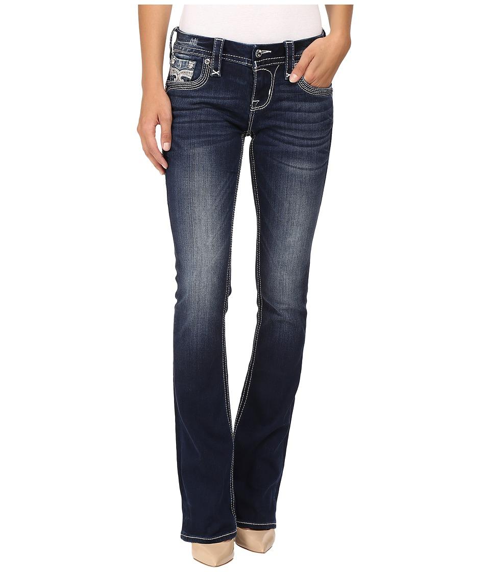 Rock Revival - Maaje B206 (Dark Blue) Women's Jeans