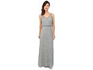 Sleeveless V-Neck Bead Blouson Gown