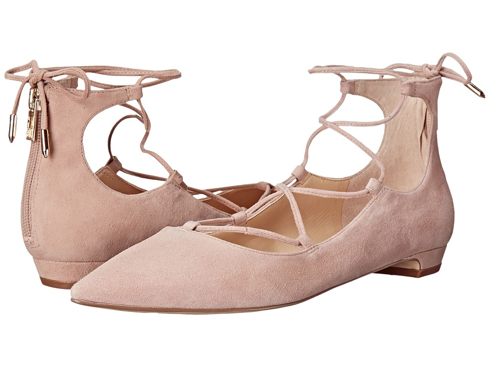 Ivanka Trump - Tropica (Light Pink Suede) Women's Flat Shoes
