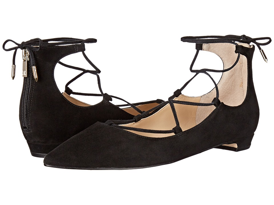 Ivanka Trump Tropica (Black Suede) Women