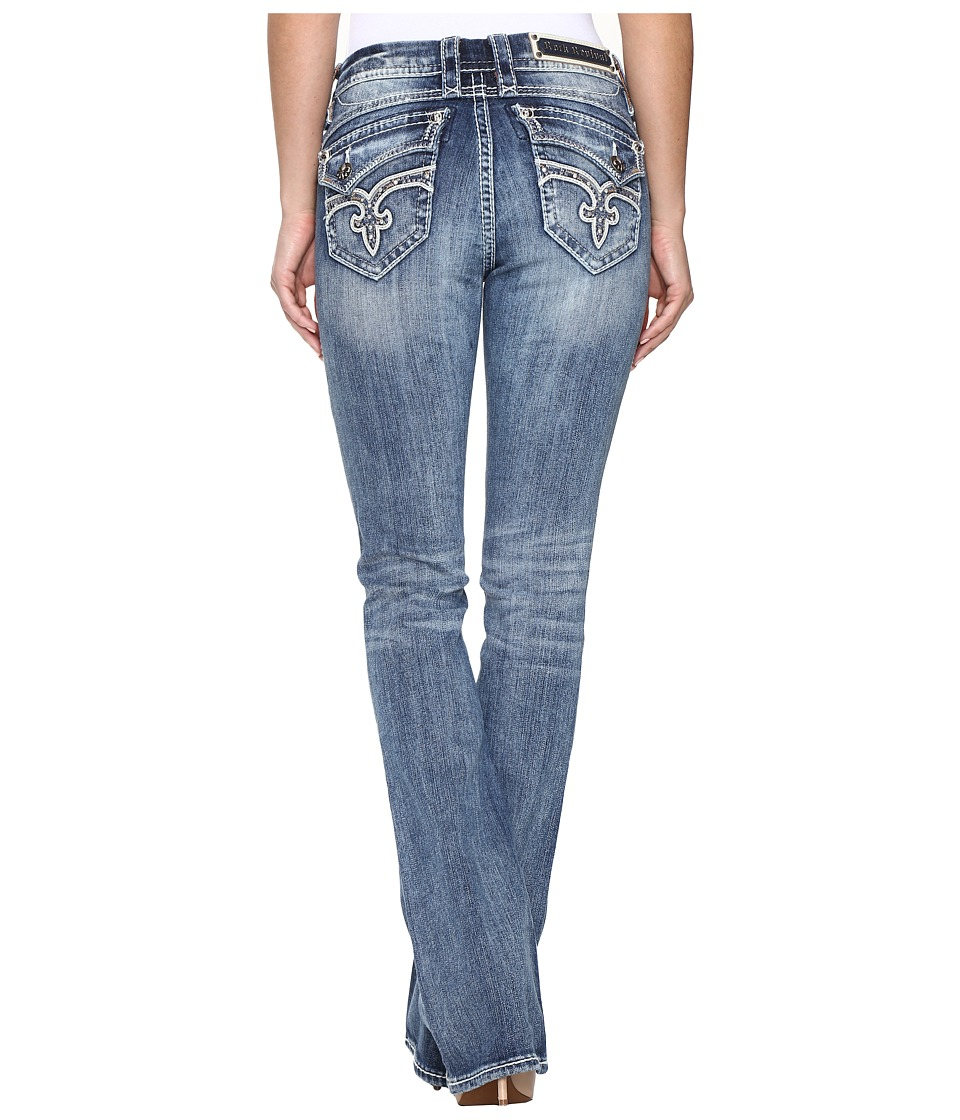 Rock Revival - Kailyn BM205 (Medium Blue) Women's Jeans