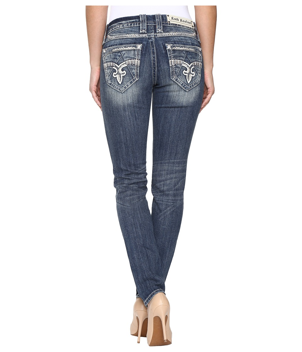 Rock Revival - Jeniya S400 (Medium Blue) Women's Jeans