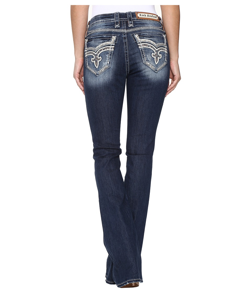 Rock Revival - Keeley BM207 (Medium Blue) Women's Jeans