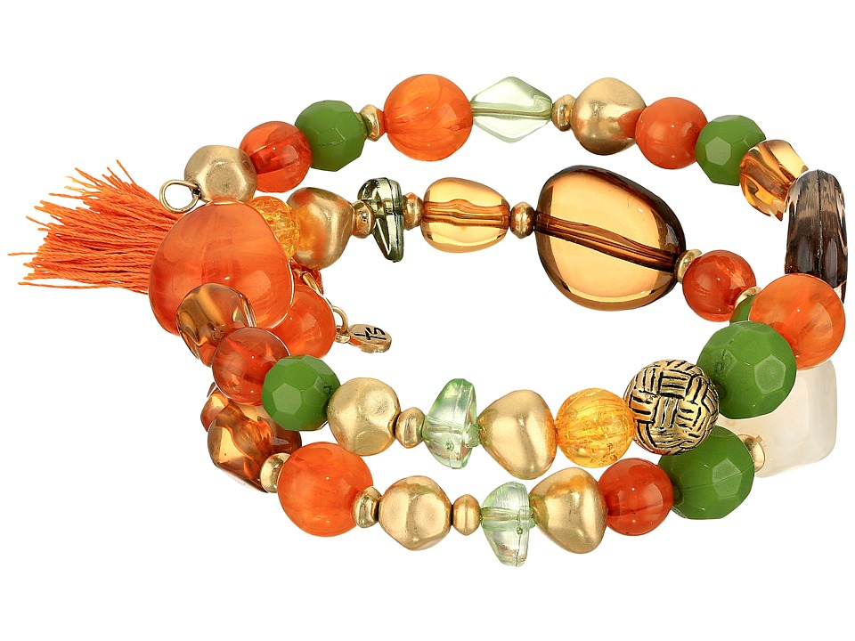 The Sak - Beaded Coil Bracelet (Multi) Bracelet