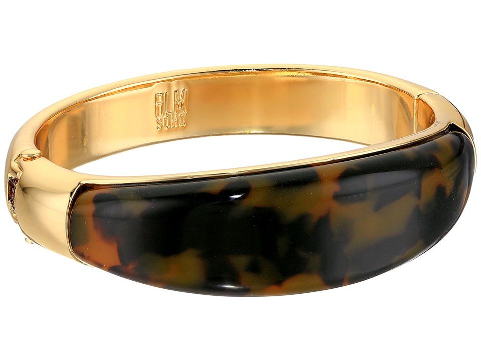 Robert Lee Morris - Tortoise Hinge Bangle Bracelet (Tortoise) Bracelet