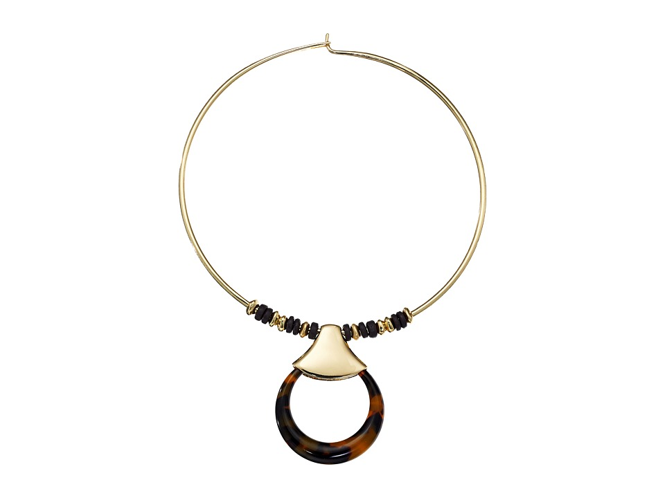Robert Lee Morris - Tortoise Round Wire Necklace (Tortoise) Necklace