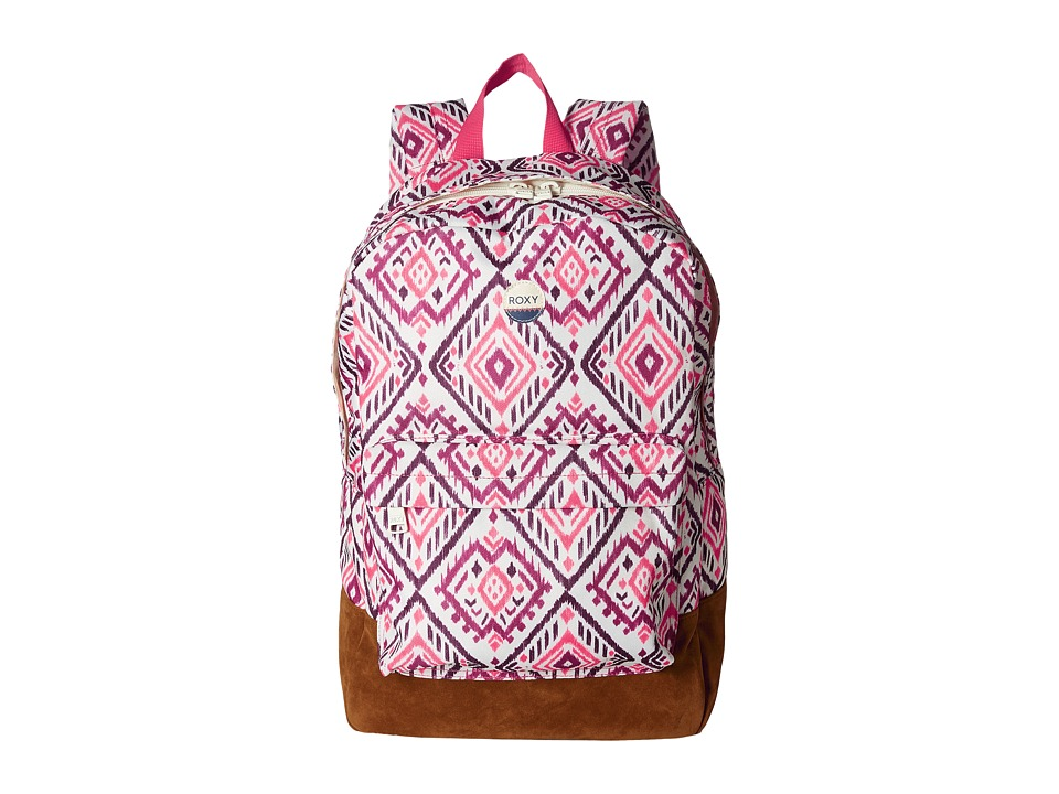 Roxy - World Is New Backpack (Ikat Bali Combo Geranium) Backpack Bags