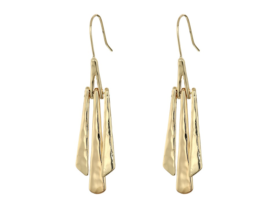 Robert Lee Morris - Gold Stick Linear Earrings (Gold 1) Earring