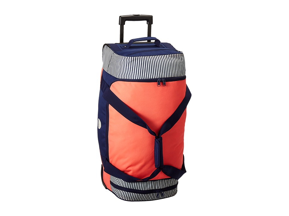 Roxy - Distance Across Luggage Roller (Neon Grapefruit) Luggage