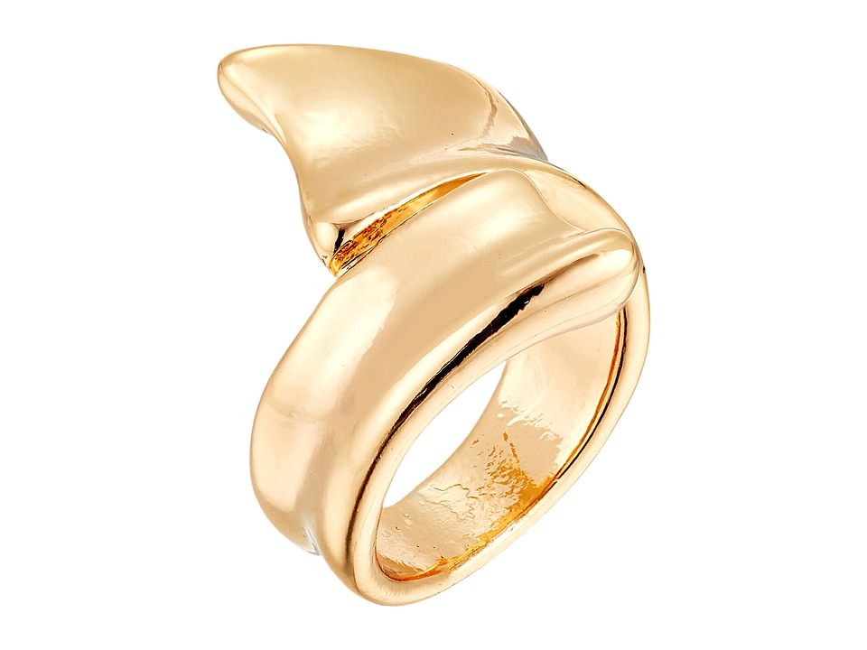 Robert Lee Morris - Shiny Gold Bipass Ring (Shiny Gold) Ring