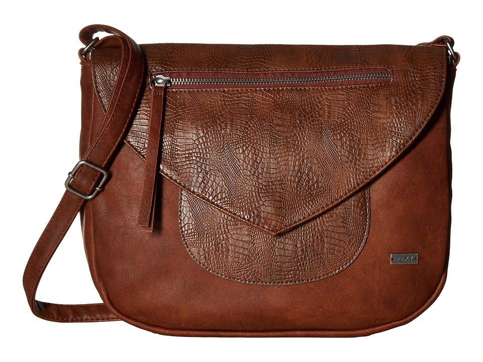 Roxy - Best Girls Crossbody Purse (Camel) Cross Body Handbags