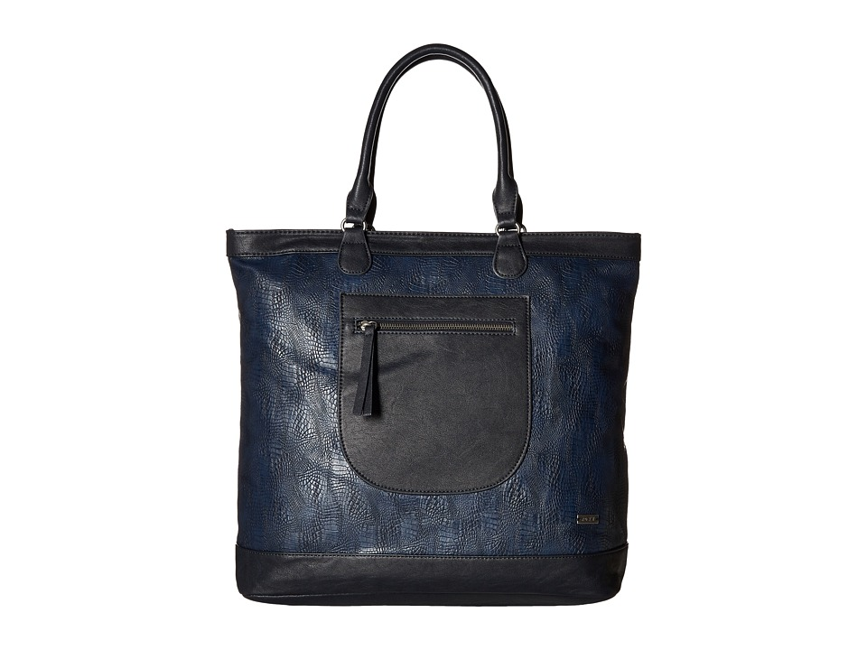 Roxy - Surfer Girls Tote Bag (Blue Print) Shoulder Handbags