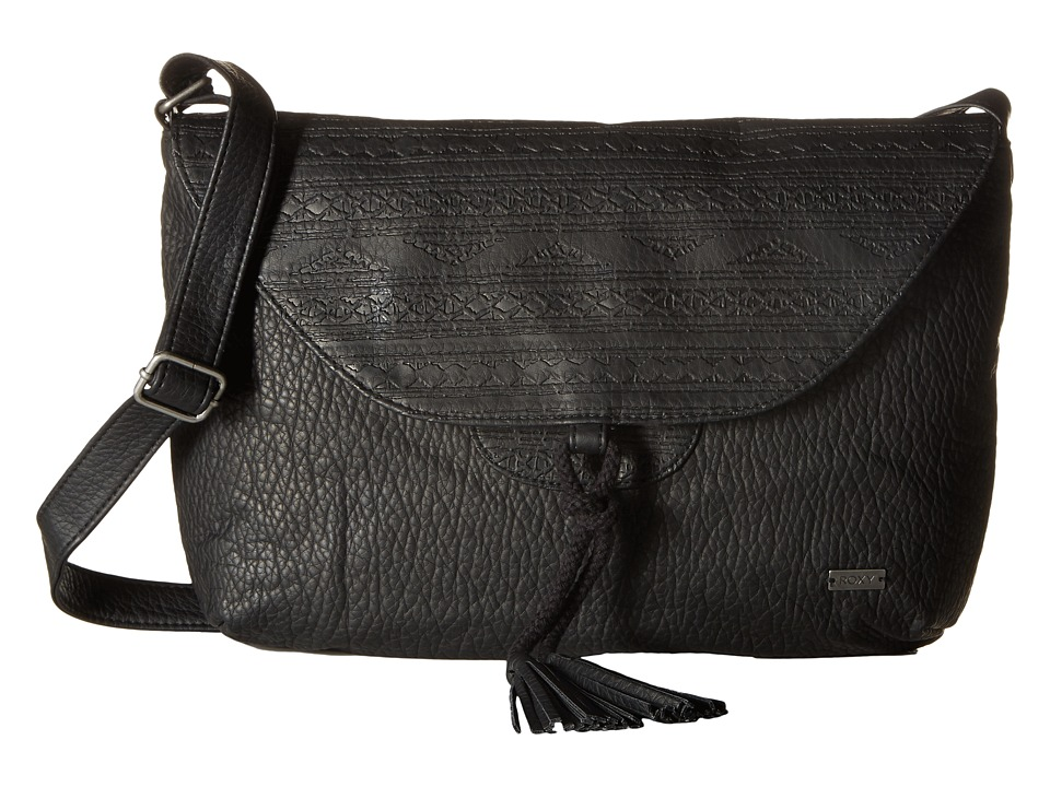 Roxy - Love Grows Crossbody Purse (True Black) Cross Body Handbags