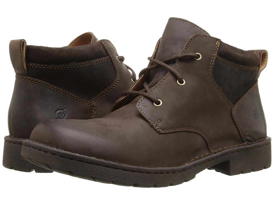 Born - Fulton (Clay/Castagno Full Grain Leather) Men's Lace up casual Shoes