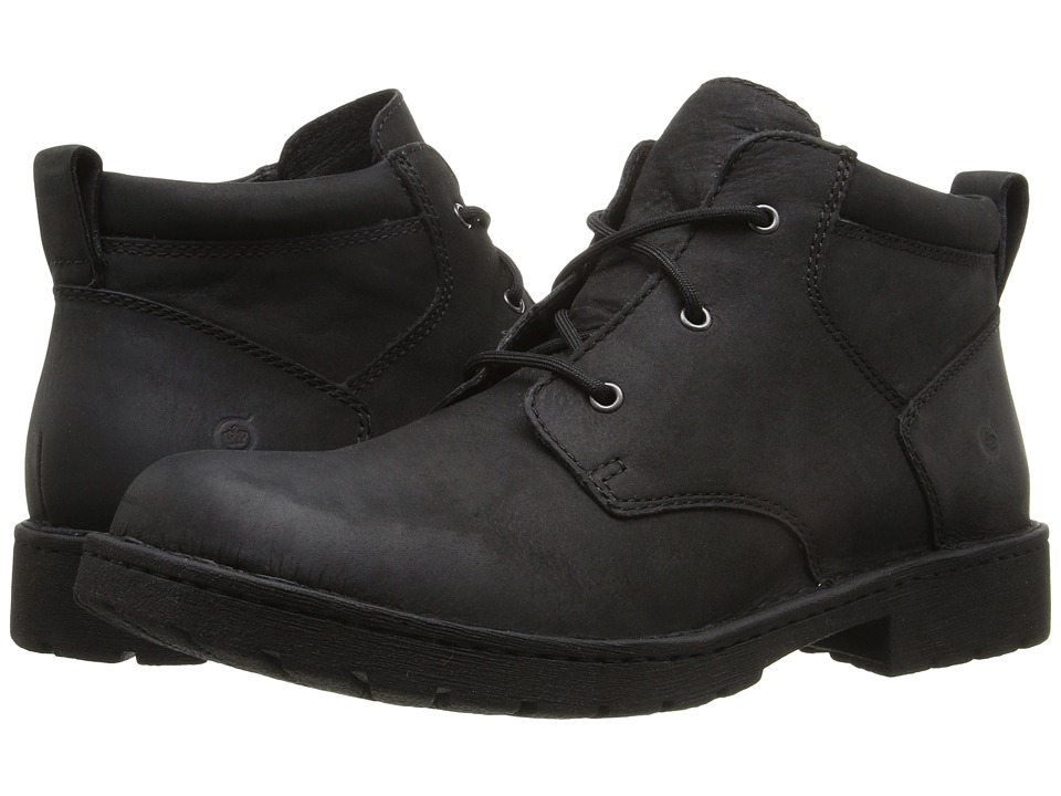 Born - Fulton (Black Full Grain Leather) Men's Lace up casual Shoes