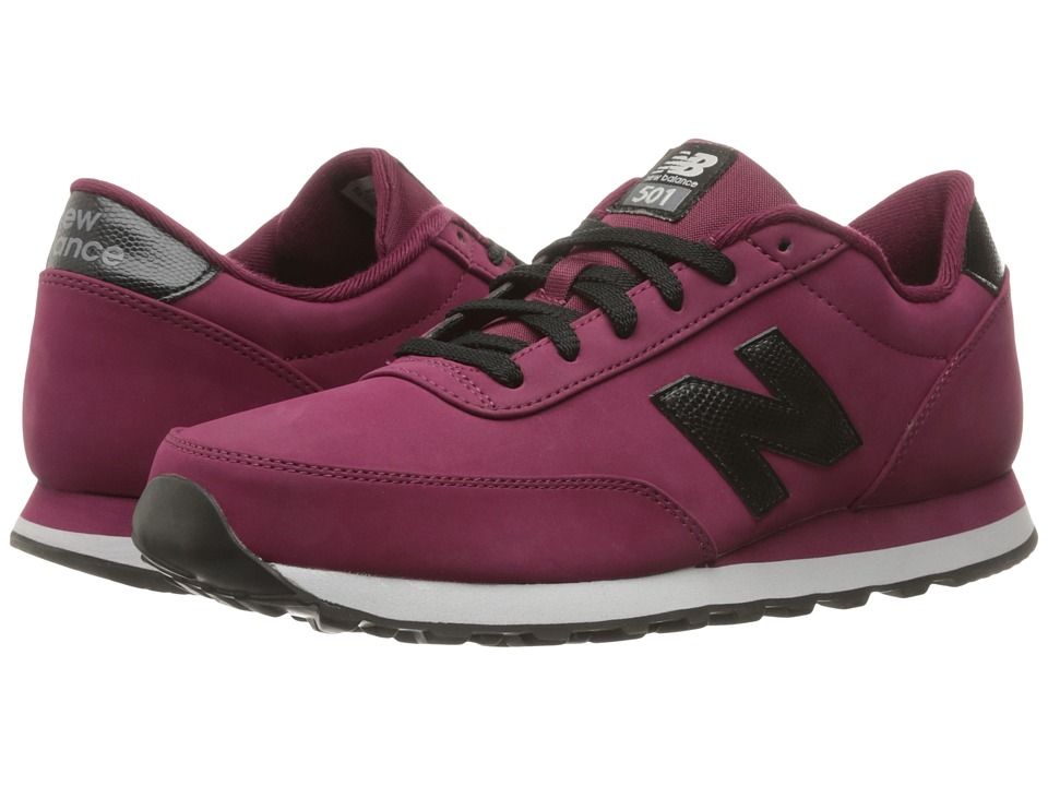 New Balance - ML501 (Sedona Red/Black Synthetic) Men's Classic Shoes