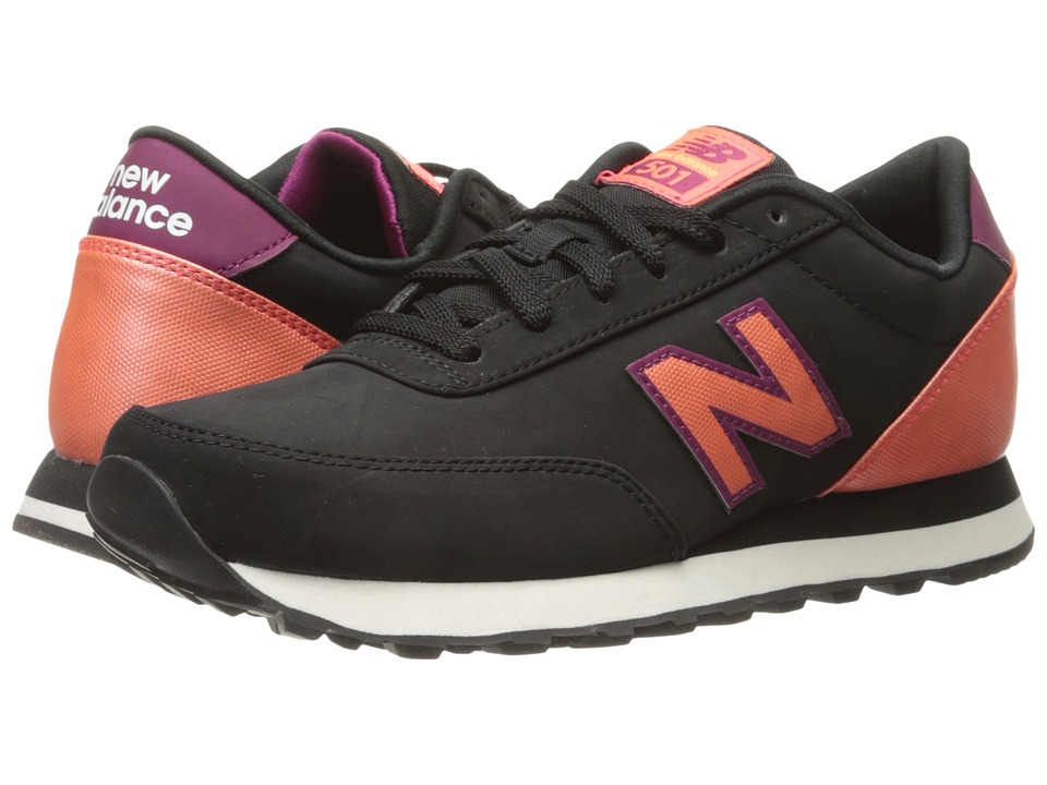 New Balance Classics - WL501 (Black/Dragonfly Synthetic) Women's Classic Shoes