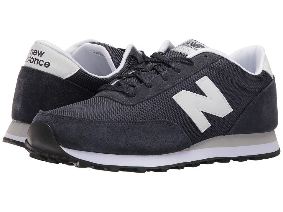 New Balance Classics - ML501 (Navy/White Suede/Mesh) Men's Classic Shoes