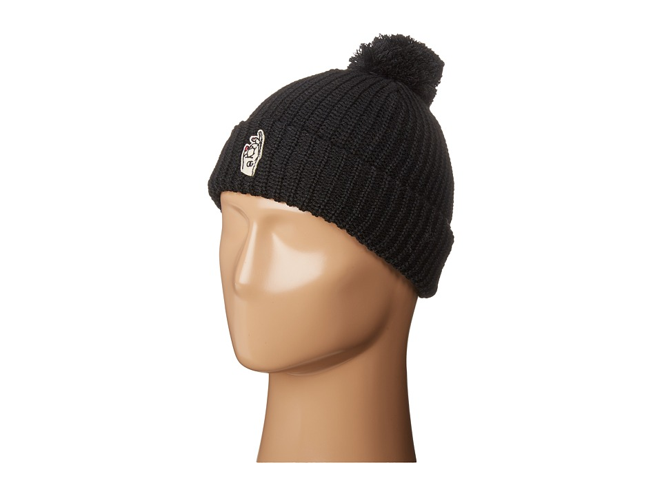 Obey - Signing Off Beanie (Black) Beanies