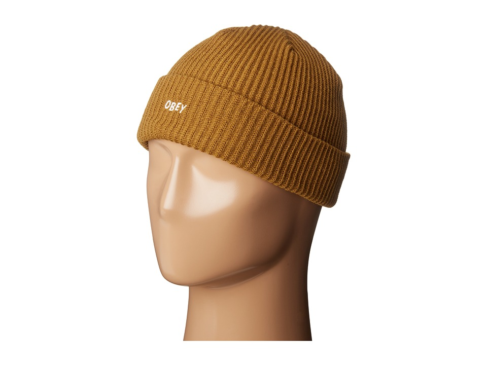 Obey - Hangman Beanie (Bone Brown) Beanies