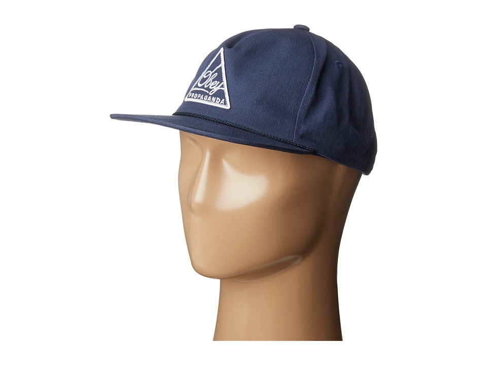 Obey - New Federation Snapback (Navy) Baseball Caps