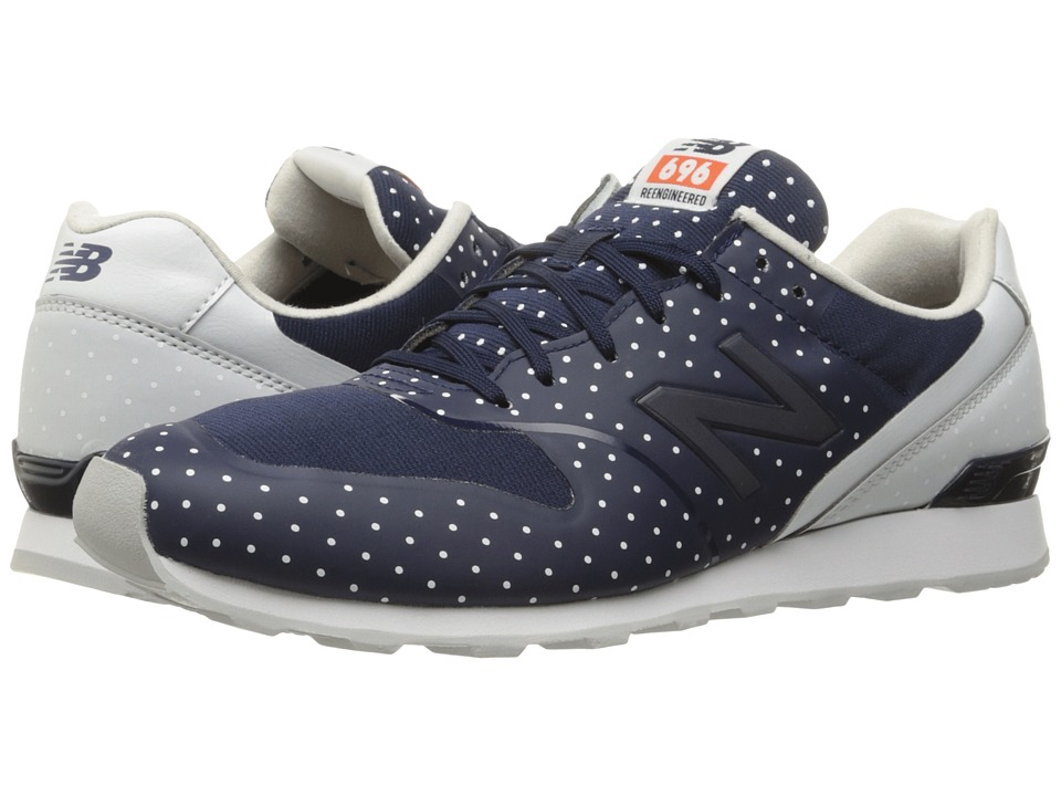 New Balance - WL696 (Navy Synthetic/Textile) Women's Classic Shoes