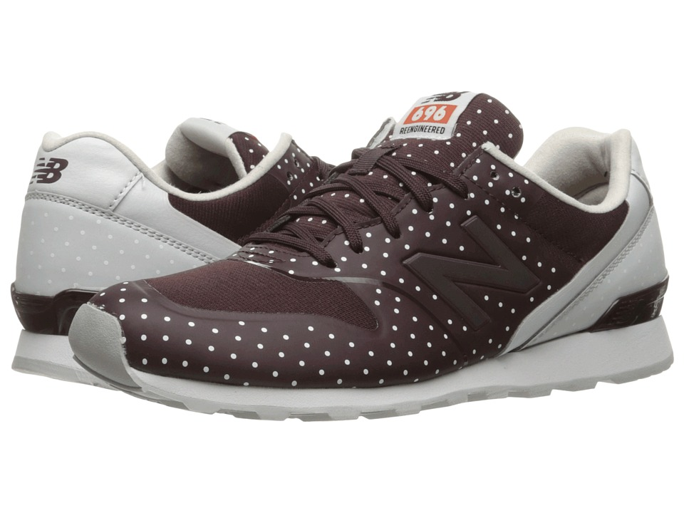 New Balance - WL696 (Burgundy Synthetic/Textile) Women's Classic Shoes